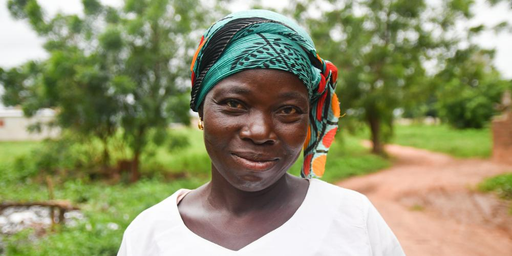 Woman in Banfora district Burkina Faso