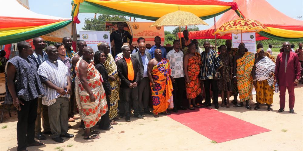ANAM initiative, Asutifi North district, Ghana