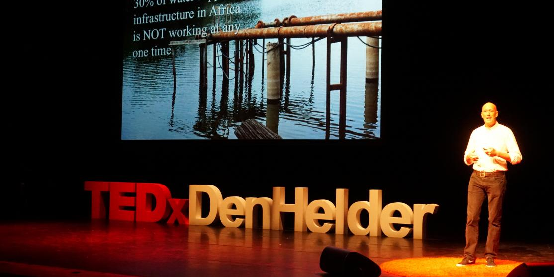 Patrick Moriarty at Tedx Den Helder