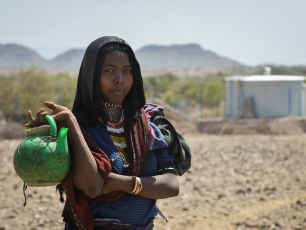 USAID-funded water point in Afar, Ethiopia