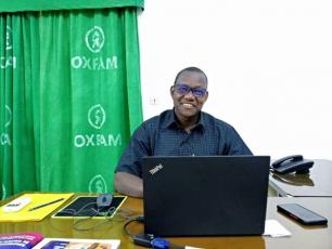 Marc Kaboré de Oxfam