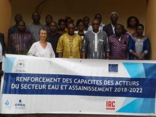IRC appui le Ministère de l'Eau et de l'Assainissement pour la formation de 38 cadres en planification financière stratégique d