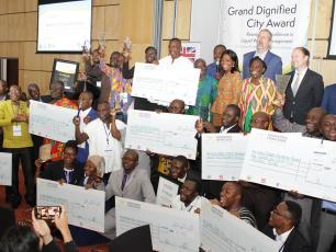 Winners of the Sanitation Challenge for Ghana