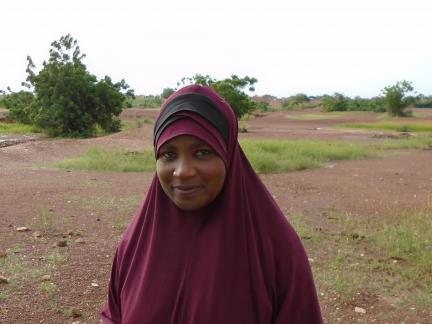 Hadjara Boubacar matron of Makalondi HCF